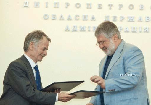 Сионистская Хунта готовит реванш в Крыму: Джемилев и Коломойский подписали совместное соглашение