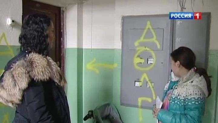 Новокузнецкие коллекторы замуровали должницу в квартире