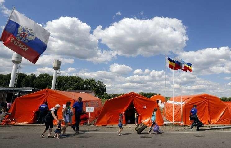 МЧС России подготовило более 200 пунктов временного размещения для беженцев с Украины