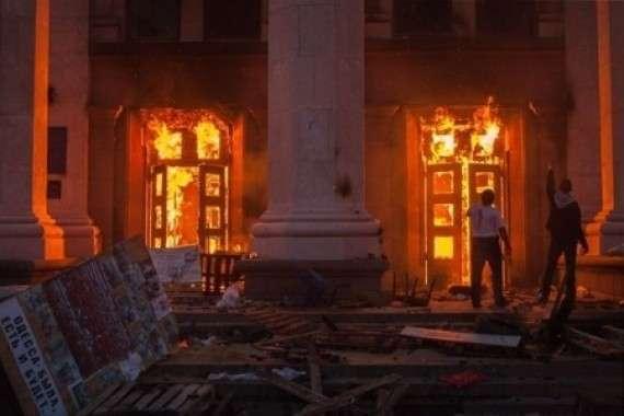 Преступление еврейской Хунты в Одессе не забудутся никогда!