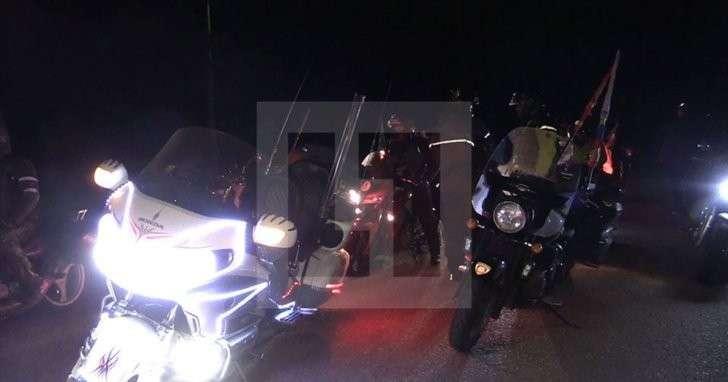 «Ночные волки» прибыли в Минск