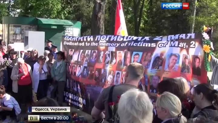 Годовщина трагедии: по пустой Одессе ездят БТРы и гуляет «Азов»