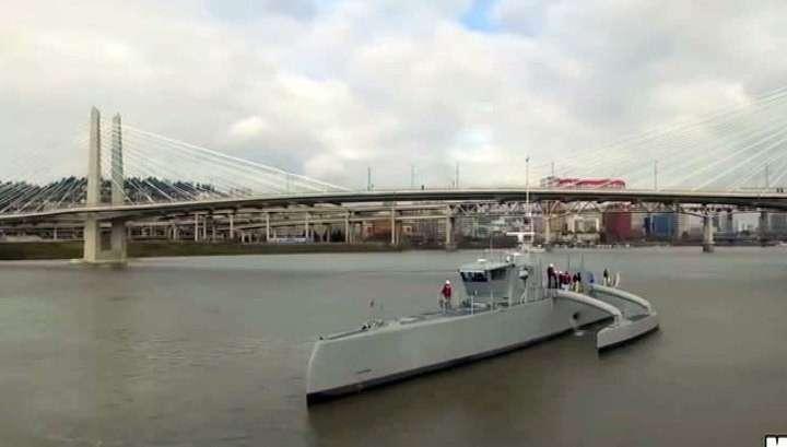 ВМС США: корабль Sea Hunter - ответ на российские подлодки