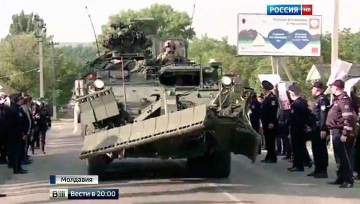 Введение войск НАТО до предела накалило обстановку в Молдавии