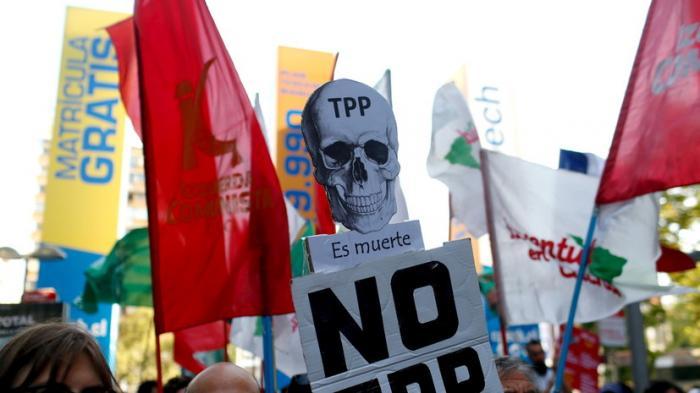 Транстихоокеанское партнёрство может оказаться на свалке истории из-за протестов