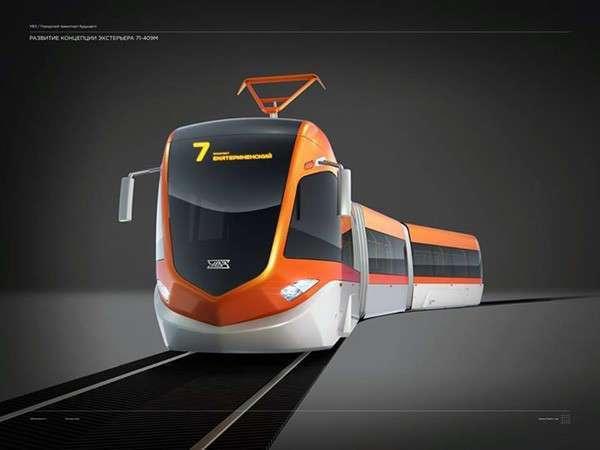 «Уралтрансмаш» создал инновационный трамвай - R1