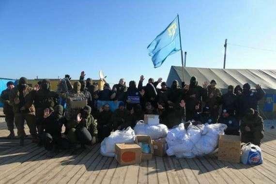 Пьяный боевик «Аскера» взорвал себя и побратымив на границе с Крымом