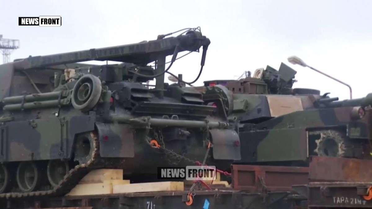 США перебросили танки «Абрамс» в Грузию