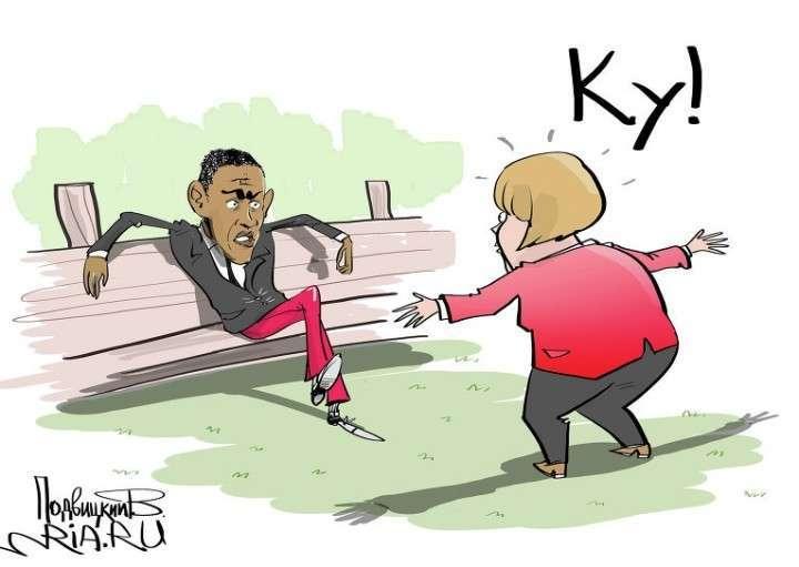 Что ценит Барак Обама в Ангеле Меркель