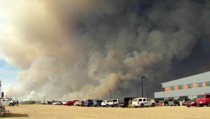 Лесные пожары в Канаде перекинулись на Британскую Колумбию