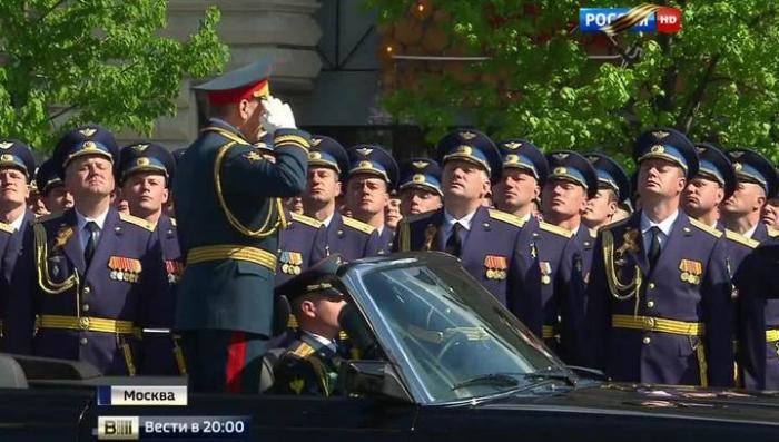 Генеральная репетиция Парада Победы прошла на пятёрку