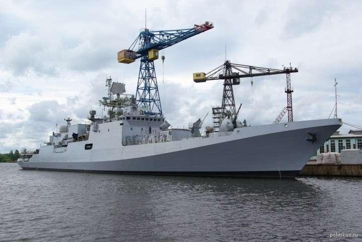 ЧФ получит все шесть фрегатов проекта 11356 к концу 2017 года