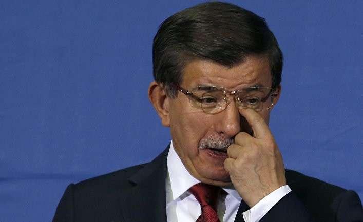 Турецкий премьер Давутоглу