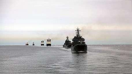 Новые корабли ВМФ прикроют арктические рубежи страны
