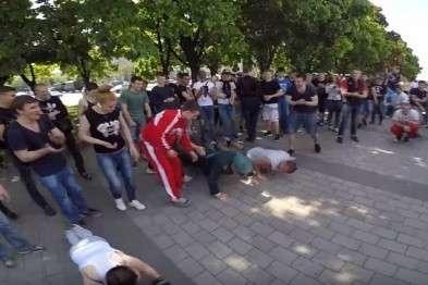 Ветеран «порвал» молодёжь 9 мая в Днепропетровске