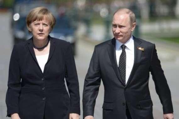 О визите фрау Меркель в Россию: Запад стоит на своём
