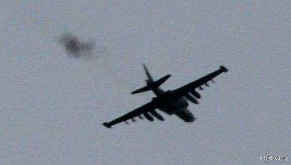 Ополченцы сбили ещё один самолёт Су-25