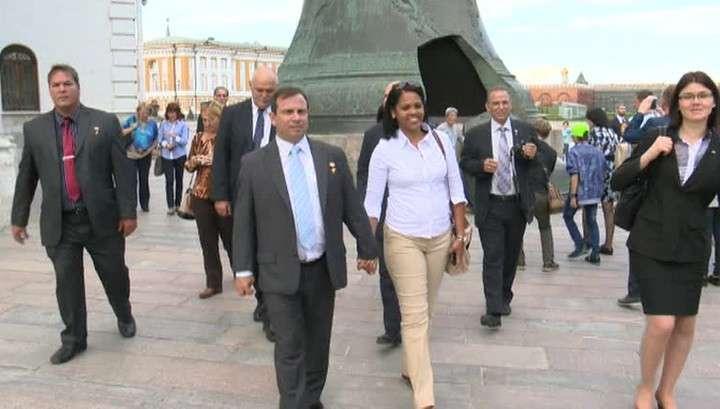 В Москве побывали члены «Кубинской пятёрки»
