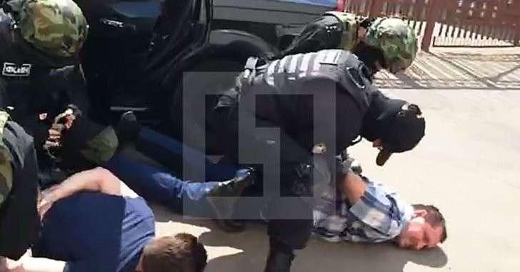 Попытку побега из СИЗО-6 в Москве сняли на видео