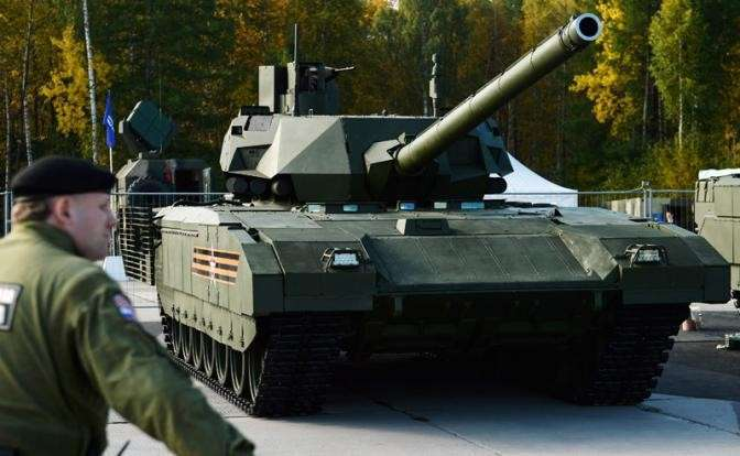 Боевой танк (ОБТ) Т-14 «Армата»