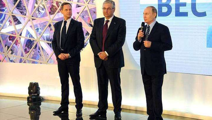 Президент Владимир Путин поздравил ВГТРК с 25-летием