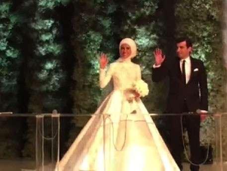 Эрдоган выдал замуж младшую дочь за производителя беспилотников