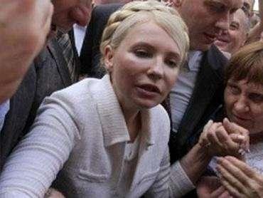 Тимошенко заразилась проказой от Ющенко!