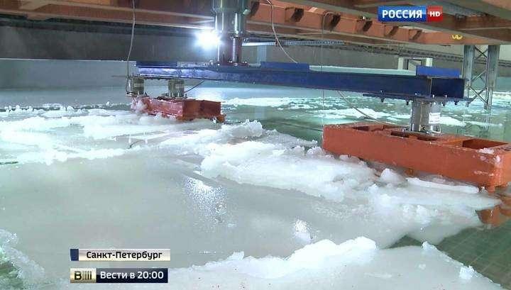 Мост в Крым испытали льдом и ураганом