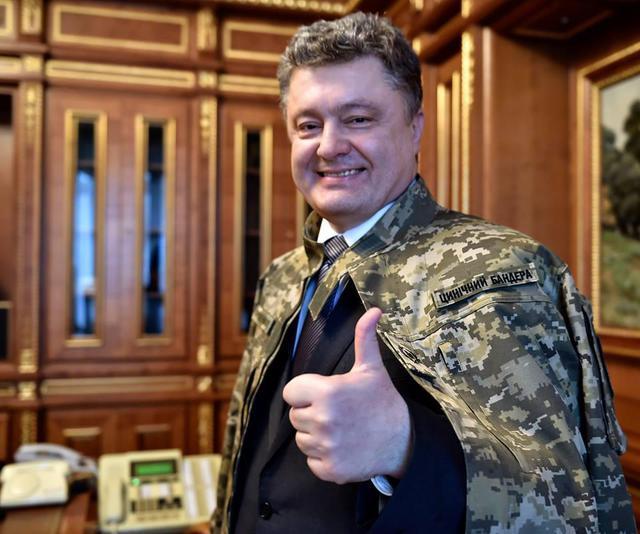 Самозванец Порошенко предлагает Западу зачистить Донбасс по образцу сербской Краины