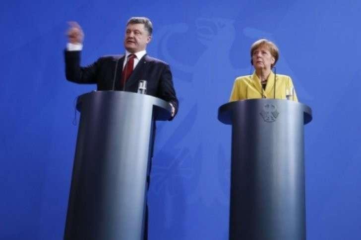 Junge Welt единственная опубликовала выдержки из письма Ларисы Шеслер в адрес Меркель о подлости Порошенко