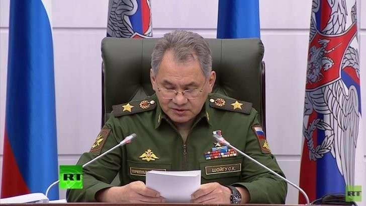Сергей Шойгу провёл заседание коллегии Минобороны России