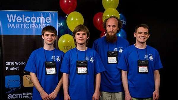 Студенты СПбГУ стали чемпионами мира по программированию, обойдя Гарвард и MIT