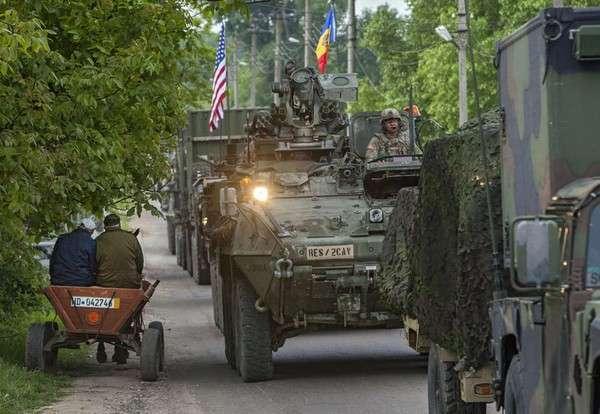 Техника НАТО в Молдове