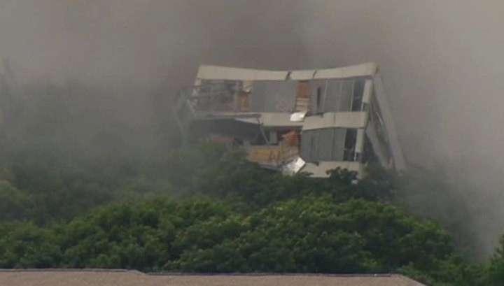 В США взорвали бывшую штаб-квартиру American Airlines