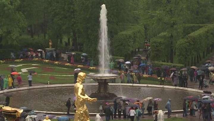 Праздник фонтанов в Петергофе: «Нептун» и солисты Мариинки