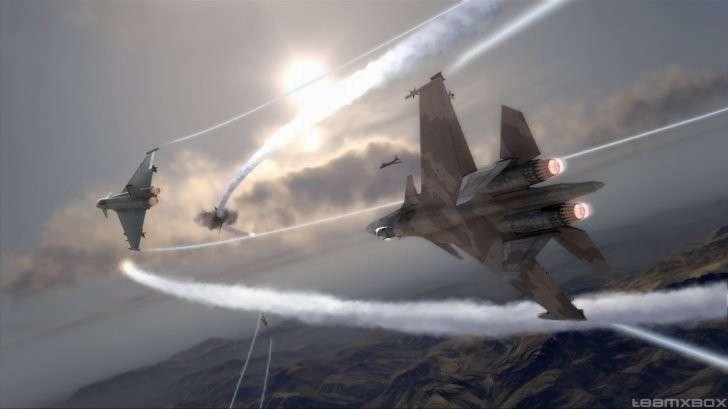 Российские истребители перехватили турецкие самолёты в небе Сирии