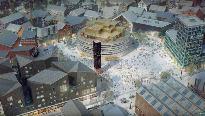 В Швеции собираются передвинуть целый город