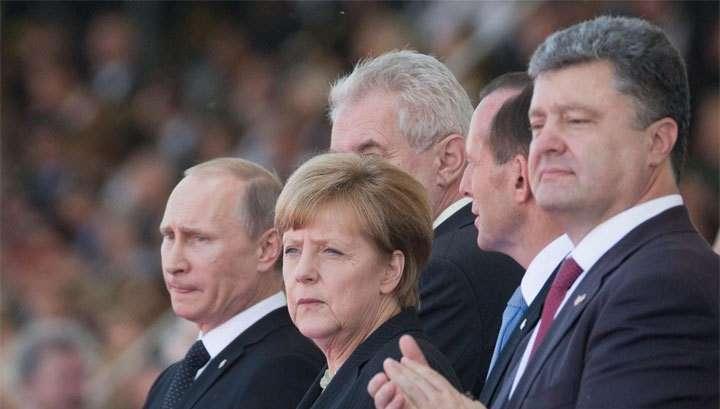 Владимир Путин ночью поговорит с Меркель, Олландом и Порошенко