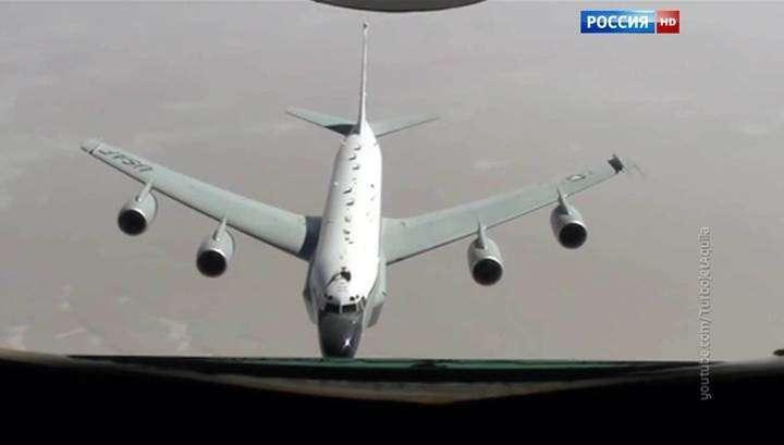 Что делал американский самолёт-разведчик вблизи российской границы?