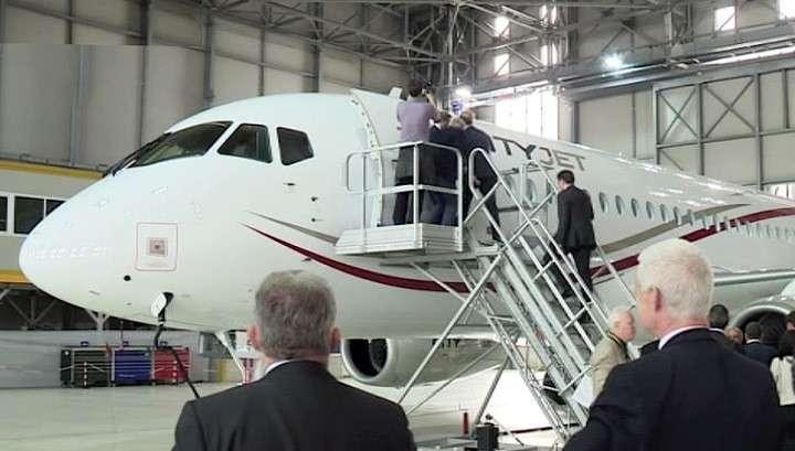 Sukhoi Superjet 100 прописался в Западной Европе