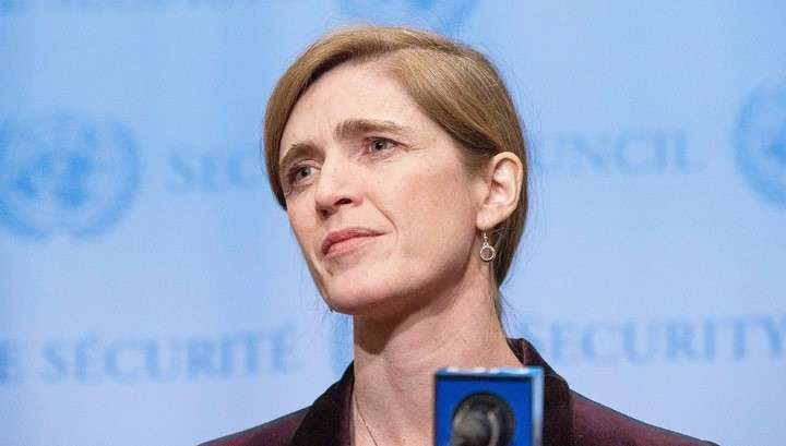 Хмурая «красотка» Пауэр обещает, что Вашингтон продолжит давить на Россию