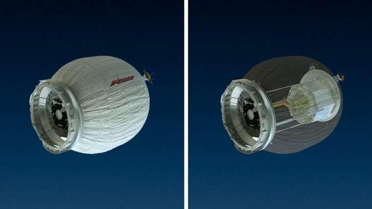 На МКС разворачивают надувной модуль — прямая трансляция