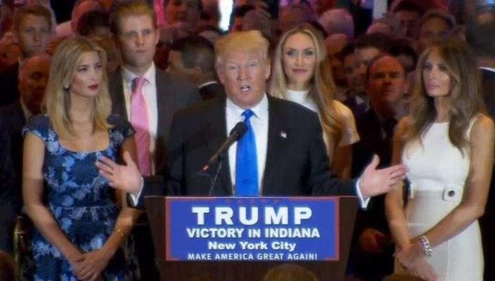 Трамп набрал нужное число голосов, чтобы стать кандидатом от республиканцев