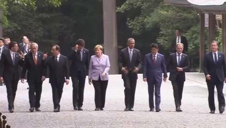 Саммит «Большой семёрки» начался с массовых протестов