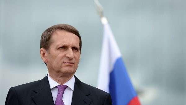 Председатель Государственной Думы РФ Сергей Нарышкин в Бресте.