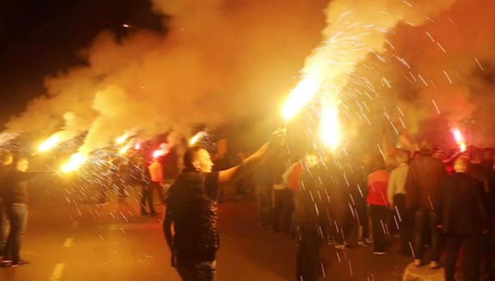 Жители Черногории протестуют против вступления страны в НАТО
