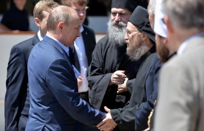Визит Владимира Путина на Афон - Видеотрансляция