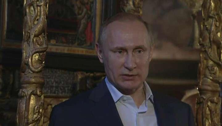 На Афоне Владимир Путин испытал особые чувства