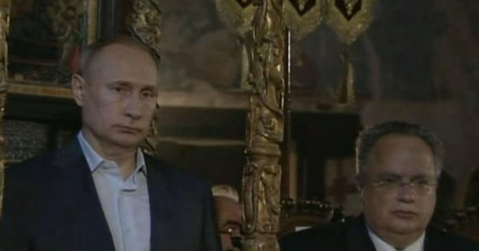 Владимир Путин посидел в кресле византийских императоров