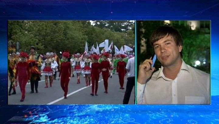 Курортный сезон в Сочи открыли карнавалом